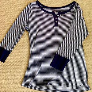 Women's Vineyard Vines Striped Long Sleeve Tee